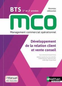 livre de relation client et vente conseil pour le BTS MCO