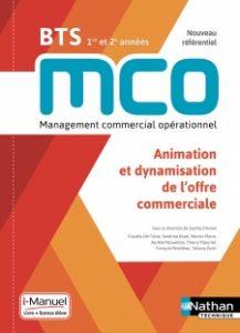 livre de dynamisation de l'offre commerciale BTS MCO