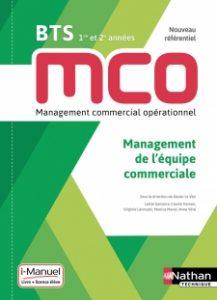 livre de management d'équipe pour le BTS MCO